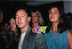 Image Is Loading JULIAN LENNON With BROOKE SHIELDS Mom CYNTHIA