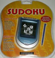 Handheld Sudoku Stylus Touch Screen Electronic 3 Levels Puzzle 10k Games