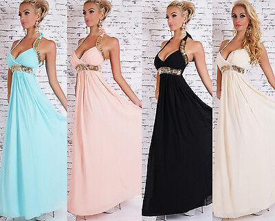 SEXY Cocktailkleid Hochzeit  Maxikleid Abendkleid Dress  Kleid Brautkleid