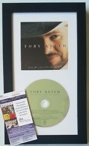TOBY KEITH SIGNED CD DISPLAY JSA COA CERTIFIED AUTOGRAPHED COUNTRY MUSIC SINGER