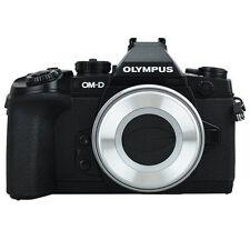 JJC Z-O14-42 Auto Open Close Lens Cap For Olympus M.ZUIKO ED 14-42mm f/3.5 Silve