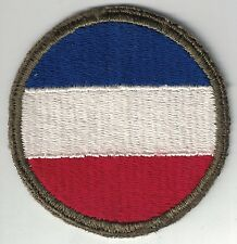 WWII Original US Army Ground Forces SSI Patch Cut Edge