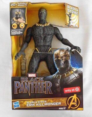 NEW Marvel Black Panther Slash /& Strike Erik Killmonger Figure