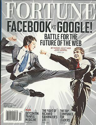 Fortune magazine Facebook Google Oxycontin Richard Rainwater Top companies