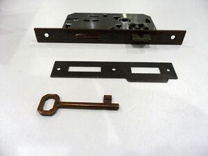OKAY Serratura PATENT da Infilare-Bordo Quadro bronzato-Entrata 35 mm Interasse 90 mm