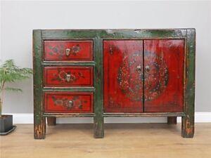 Antike Chinesische Kommode Sideboard Hochzeitsschrank China Möbel
