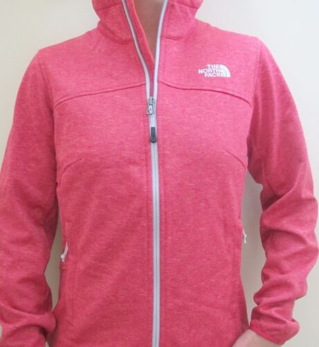 Xs Fleece North New Extra Pink Face Small Coat Womens Jacket Zip Canyonwall qtZnZRPxr5