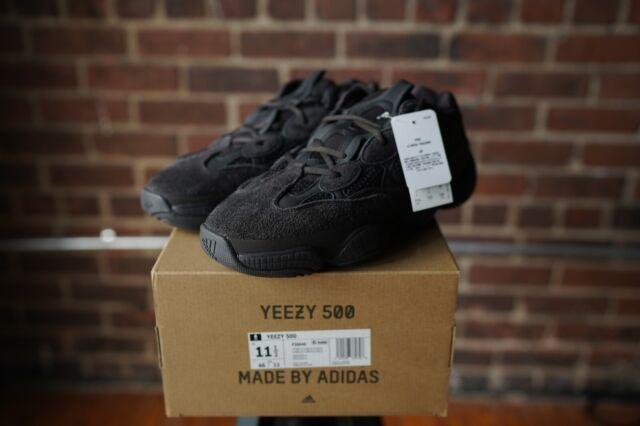 lowest price 24f1e 5911a adidas Yeezy 500 Utility Black F36640 Size 11.5