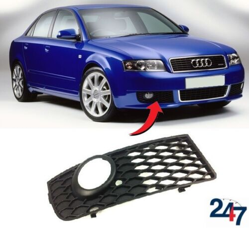 NEW AUDI A4 B6 2001-2004 FRONT S LINE BUMPER FOG LIGHT GRILLE RIGHT O//S