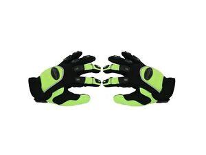 Paire de gants moto enduro / motocross taille L  , vert, noir