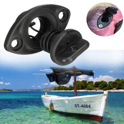 "2x Marine Boat Yacht Drain Plug Screw Bung Socket Universal Fit for 1/"" Hole"