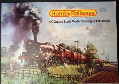 Hornby Railways OO gauge scale model catalogue Edition 20 1974 R280