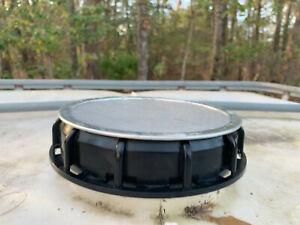 2 Aquabarrel IBC 6 inch Cap with Mosquito Screen Insert