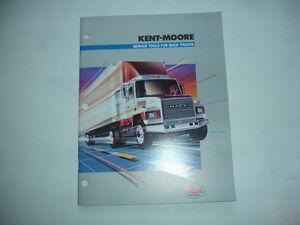 Kent-Moore SPX Factory Service Tool Catalog Mack Trucks Shop