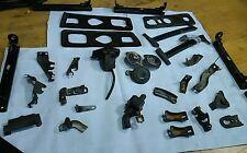 84-87 Honda CRX, Many miscellaneous small parts, mostly brackets - see photos