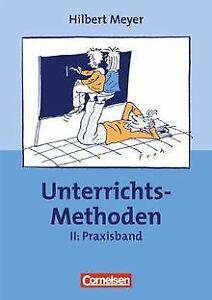 UnterrichtsMethoden-2-Bde-Bd-2-Praxisband-von-Meyer-Buch-Zustand-gut