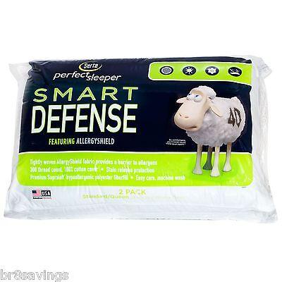 2 Serta Standard/Queen Bed Pillow Pillows - 2 pk