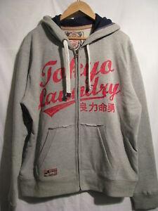 Laundry con Zip grigio Bnwt taglia Top Tokyo Xl cappuccio in ZqwF1S