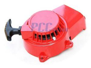 RED-ALUMINUM-PULL-STARTER-START-RECOIL-47-49CC-MINI-POCKET-BIKE-ATV-M-PU10R
