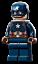 thumbnail 2 - sh729 Lego Marvel Avengers Infinity Saga 76192 - Captain America Minifigure New