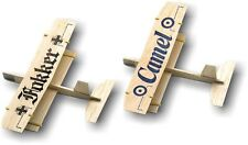 """Guillow's  #46 Balsa Wood Biplane Glider - 2 in a Pillow Pack - """"Free Shipping"""""""