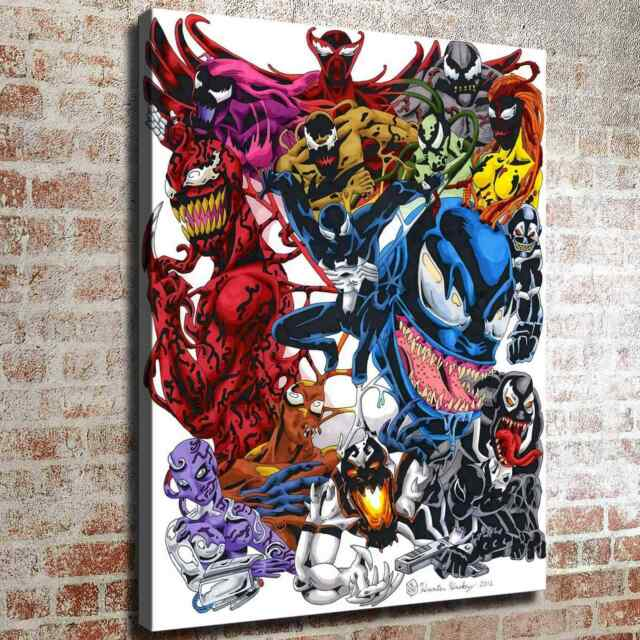 Venom family Poster Photos HD Canvas prints Painting Home ...