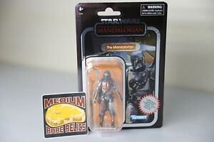 Star Wars Vintage Collection: The Mandalorian - Carbonized Walmart Exclusive TVC