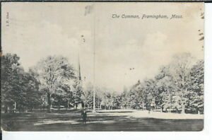 CG-079-MA-Framingham-the-Common-Divided-Back-Postcard-Lindhal