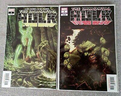 Immortal Hulk #2 Regular and Variant Marvel Mexico Mexican Editions