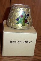 Home Interior Homco 58097 Christmas Tree Candle Capper Shade