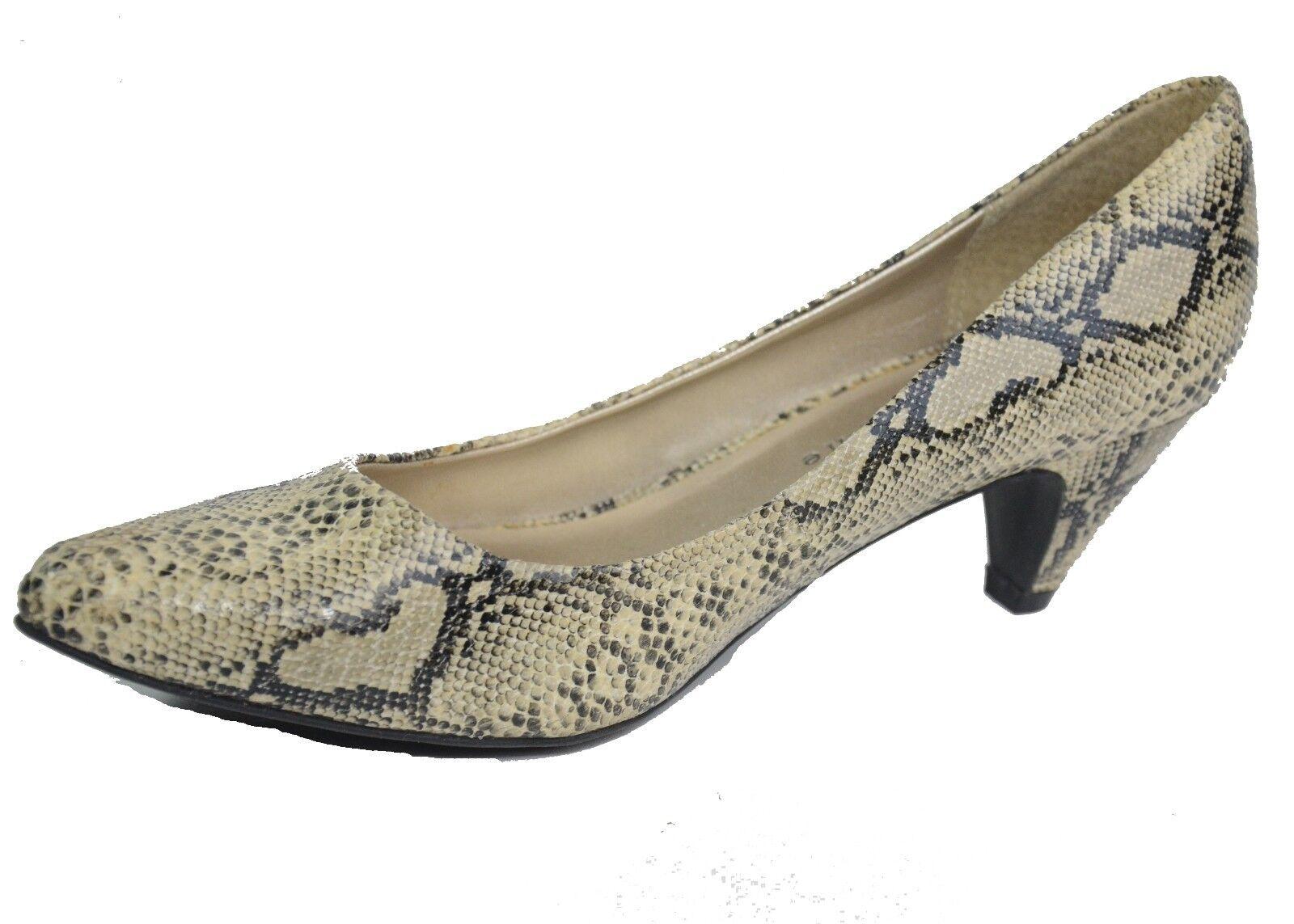 Apostrophe Ladies Size Animal Print Heels Mixie Size Ladies 7  2'' Heel Pump 1da69e