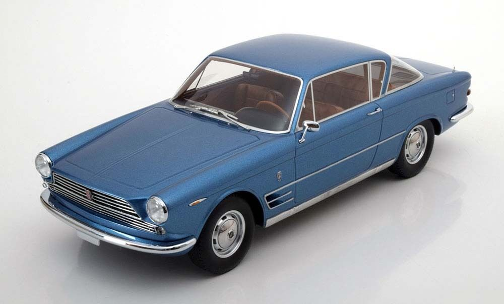 1961-1968 Fiat 2300 S Coupe Light bluee Met. by BoS Models LE of 1000 1 18 New