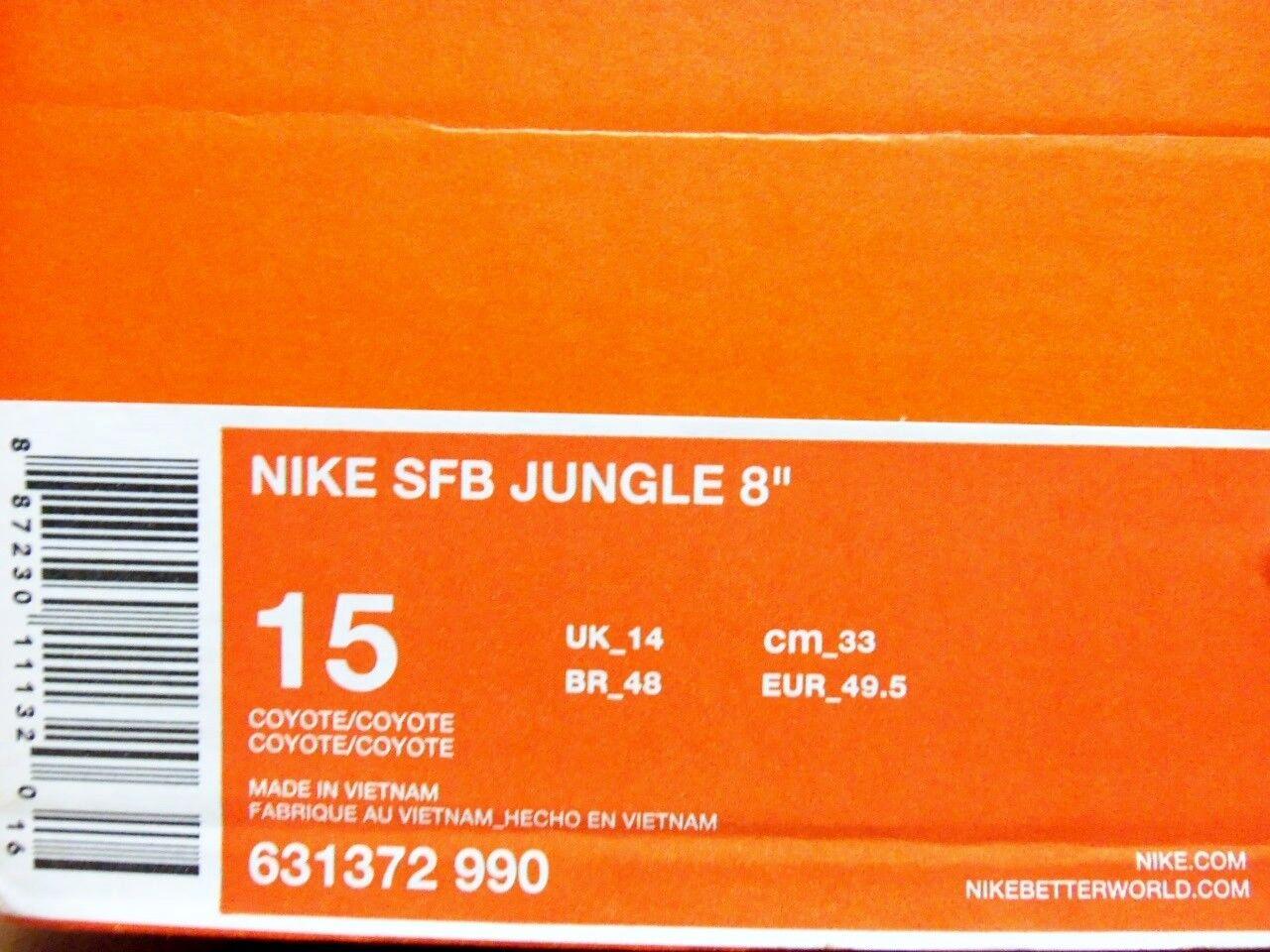 nike sfb jungle jungle jungle 8 « bottes coyote / coyote taille hommes 15 [631372-990] 6ac6e1