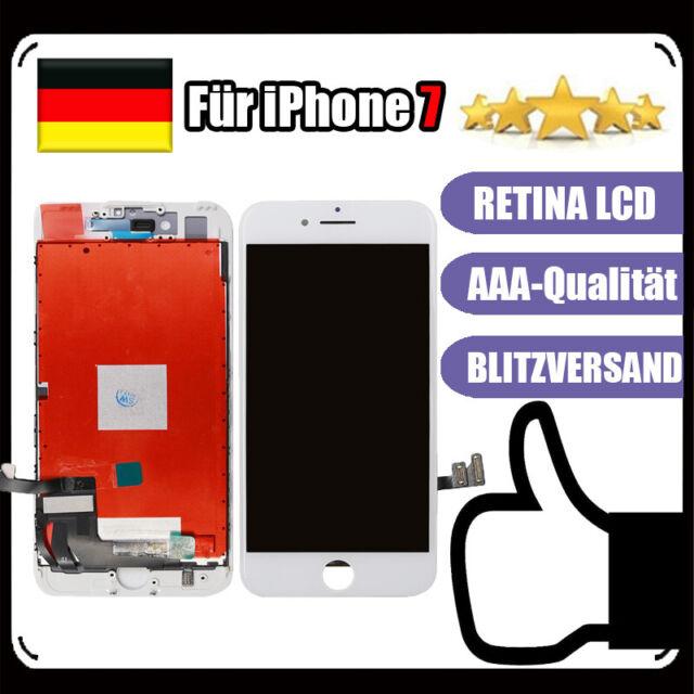 Für iPhone 7 Display RETINA HD LCD mit 3D Touch Bildschirm Scheibe WEISS White