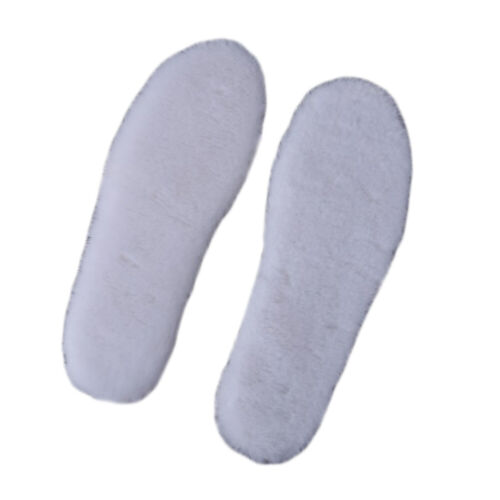 Winter Warm Heated Insoles Soles For Shoes Thick Pad Snow Boots Fur Insoles Pad