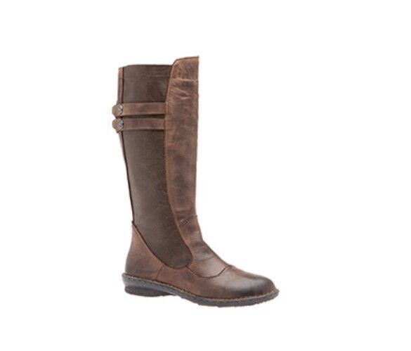 New In Box  Tara M Blaire Brown Leather Mid-Calf Boots US 11 Retail  189.95