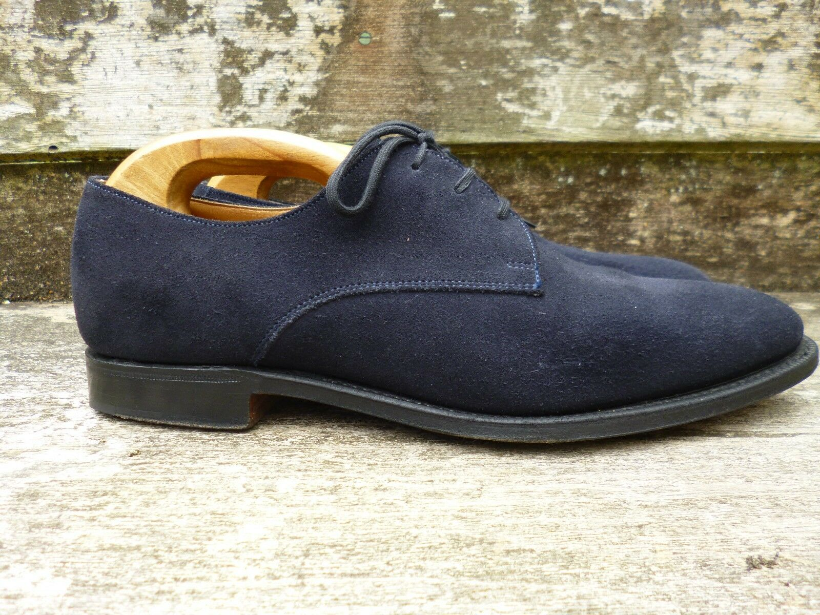 CHURCH DERBY Schuhe  – Blau SUEDE –  Schuhe UK 6.5 – OSLO – EXCELLENT CONDITION 1c5c20