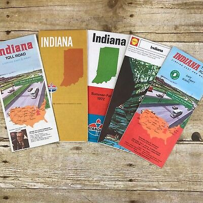 Lot of 5 Vintage Maps Indiana State IN Travel Gasoline Oil Gulf S Toll Indiana State Travel Map on florida travel map, iowa travel map, tennessee travel map, cincinnati travel map, nebraska travel map, oklahoma travel map, ohio travel map, nevada travel map, indiana map with capital, virginia travel map, colorado travel map, idaho travel map, indiana state weather, kentucky travel map, utah travel map, indiana state information, mississippi travel map, wisconsin travel map, indiana state history, wyoming travel map,