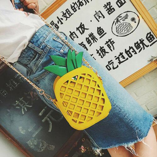 Fashion femmes Fille Fruits Sac Épaule Fourre-tout sac à main Messenger Bandoulière Sac Sac à main