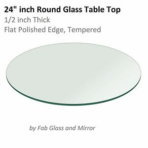 Ordinaire Image Is Loading Glass Table Top 24 Inch Round 1 2