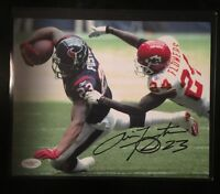 Houston Texans Arian Foster Autographed/Signed 8x10 Photo - JSA Authenticated