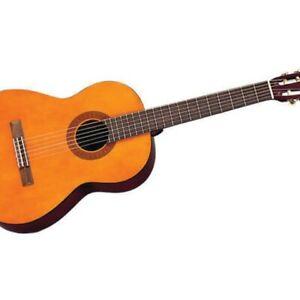 Yamaha C40 Classical Acoustic Guitar natural   eBay