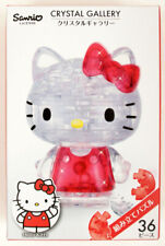 Small angels /& demons New Crystal Gallery 3D Puzzle SANRIO Hello Kitty