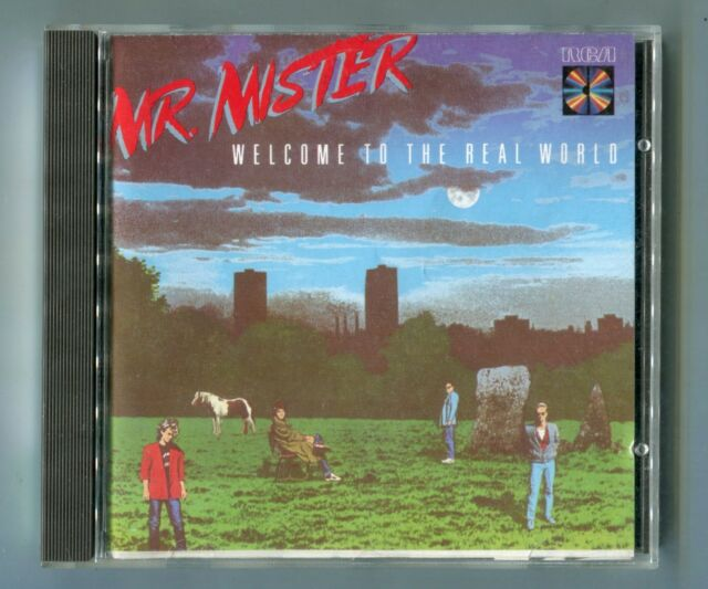 Mr. Mister cd WELCOME TO THE REAL WORLD 1985 RCA # ND90254