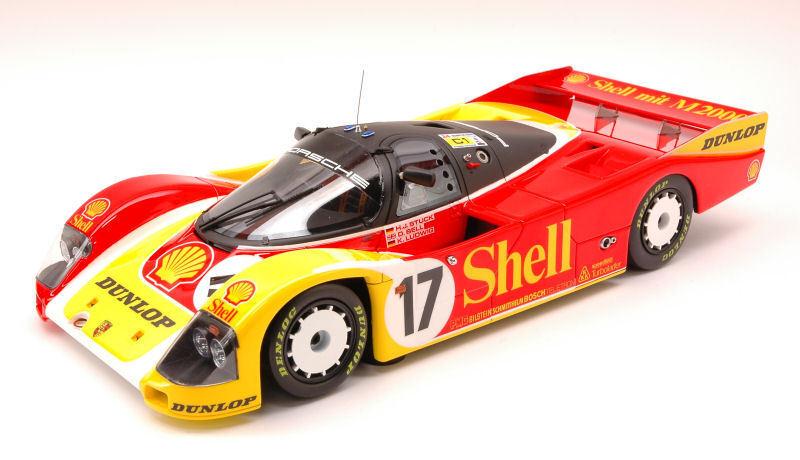 Porsche 962c Shell #17 2nd Lm 1988 Stuck Stuck Stuck / Bell / Ludwig 1:18 Model HPI RACING | Larges Variétés  0f049b