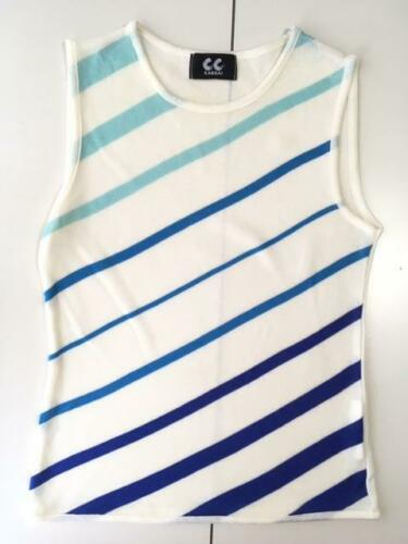 CC KANSAI Kansai Yamamoto  Short Sleeve Knit Vest… - image 1