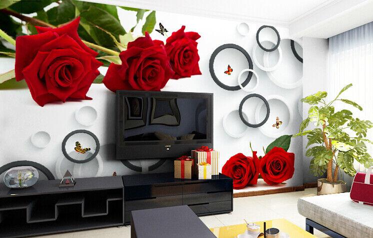 3D reder pinknkreis 73 Tapete Wandgemälde Tapete Tapeten Bild Familie DE