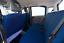FODERE COPRISEDILI FIAT PANDA 2003/>2011 !SU MISURA COMPLETE Azzurro 7 4 POSTI
