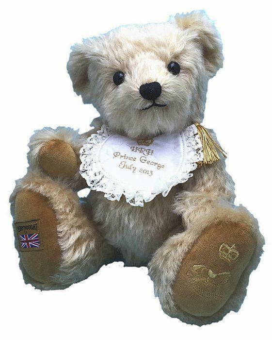 Merrrythought Witney Royal Baby Commemorative Teddy Bear 2015 New