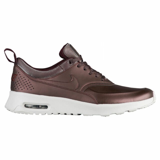 best loved ab205 d69fc NEW Women s Nike Air Max Thea Prm Shoes Sneakers Size 5.5 Color  Metallic  Mahoga